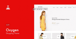 Oxygen v5.7.1 – WooCommerce WordPress Theme