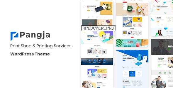 Pangja v1.2.8 – Print Shop & Printing Services WordPress theme