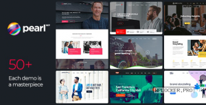 Pearl WP v3.2.7 – Corporate Business WordPress Theme