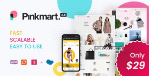 Pinkmart v2.8.1 – AJAX theme for WooCommerce