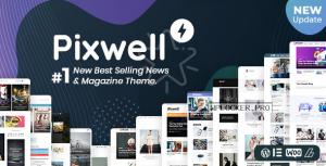 Pixwell v6.0 – Modern Magazine