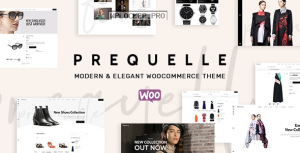 Prequelle v1.4.3 – Elegant and Modern WooCommerce Theme