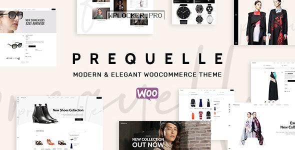 Prequelle v1.4.3 – Elegant and Modern WooCommerce Theme