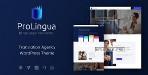 ProLingua v1.1.1 – Translation Services WordPress Theme