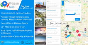 Progress Map WordPress Plugin v5.6.3
