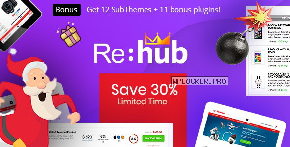 REHub v13.8 – Price Comparison, Business Community
