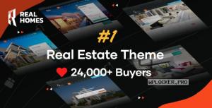 Real Homes v3.12.0 – WordPress Real Estate Theme