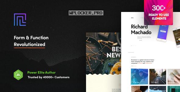 Revolution v2.3.5 – Creative Multi Purpose Theme