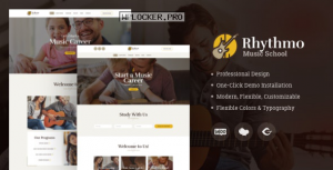 Rythmo v1.2.0 – Music School WordPress Theme