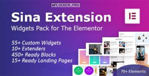 SEFE v1.6.4 – Sina Extension for Elementor