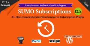 SUMO Subscriptions v12.3 – WooCommerce Subscription System
