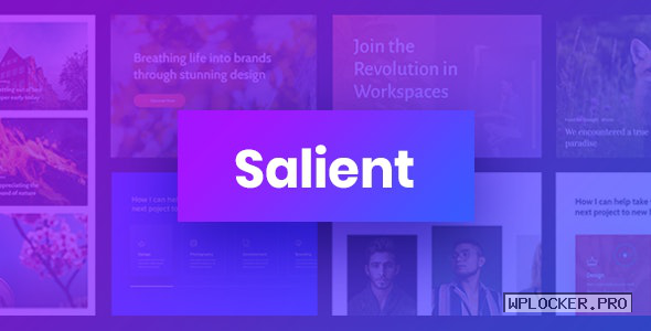 Salient v12.1.4 – Responsive Multi-Purpose Theme
