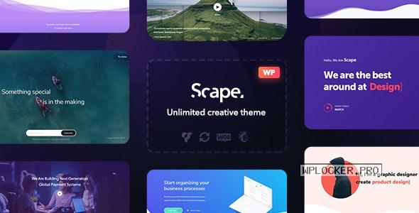 Scape v1.4.11 – Multipurpose WordPress theme
