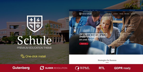 Schule v1.0.8 – School & Education Theme