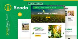 Seodo v1.0.0 – Agriculture Farming Foundation WordPress Theme