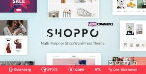 Shoppo v1.0.4 – Multipurpose WooCommerce Shop Theme