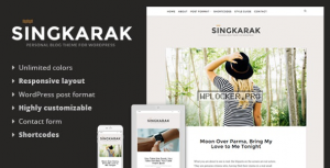 Singkarak v1.0.8 – Responsive WordPress Blog Theme