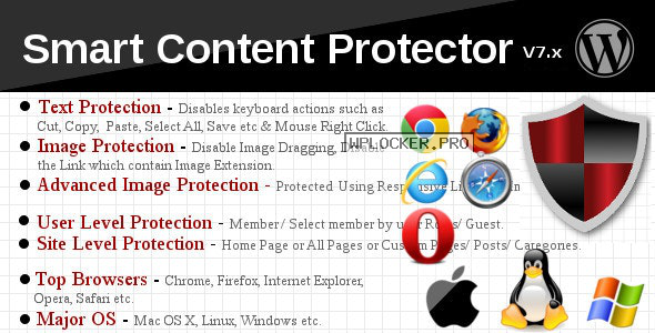 Smart Content Protector v8.3 – Pro WP Copy Protection