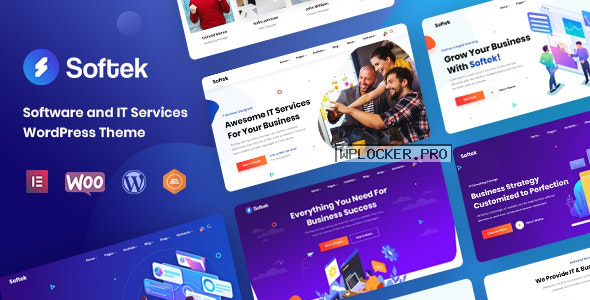Softek v1.0.2 – Software & IT Solutions WordPress Theme
