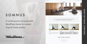 Somnus v1.0.9 – Yoga & Fitness Studio WordPress Theme