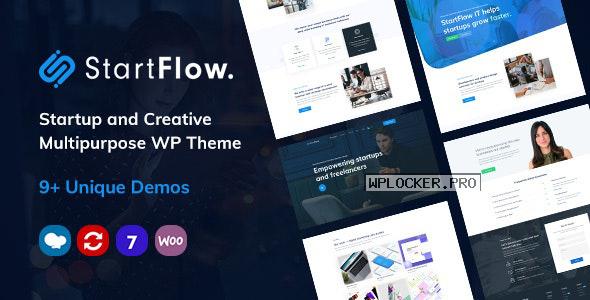 Start Flow v1.10 – Startup and Creative Multipurpose WordPress Theme