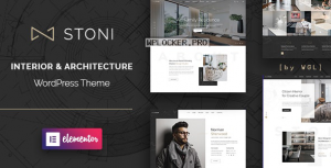 Stoni v1.1.2 – Architecture Agency WordPress Theme