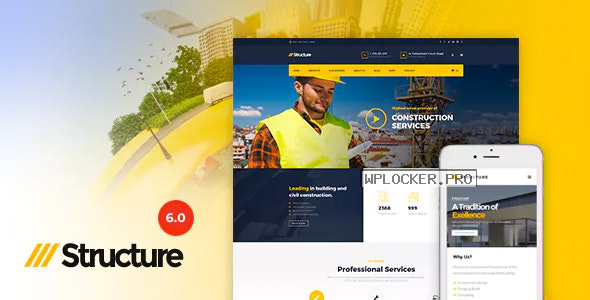 Structure v6.9.7 – Construction WordPress Theme