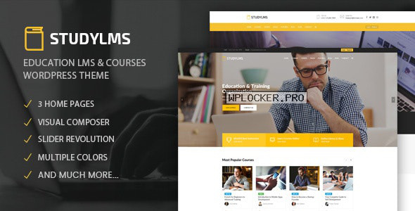 Studylms v1.18 – Education LMS & Courses Theme