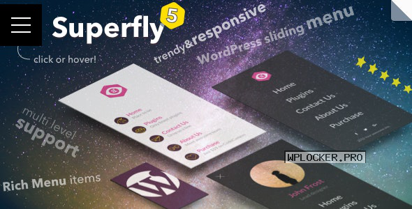 Superfly v5.0.17 – Responsive WordPress Menu Plugin