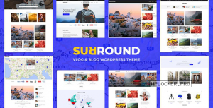 Surround v1.0.6 – Vlog & Blog WordPress Theme