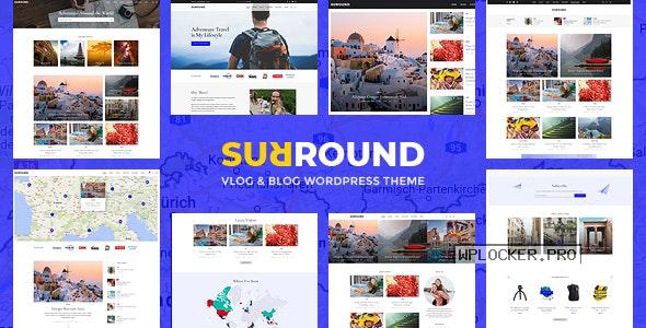 Surround v1.0.6 – Vlog & Blog WordPress Theme