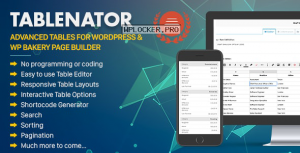Tablenator v2.1.6 – Advanced Tables for WordPress