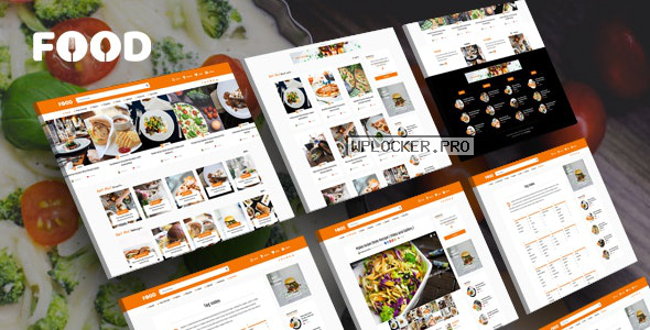 Tasty Food v2.6 – Recipes & Blog WordPress Theme