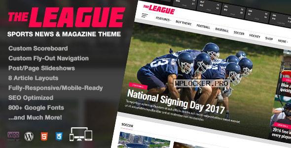 The League v4.2.1 – Sports News & Magazine WordPress Theme