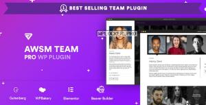 The Team Pro v1.9.0 – Team Showcase WordPress Plugin