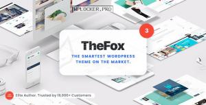 TheFox v3.9.9.9.5 – Responsive Multi-Purpose WordPress Theme