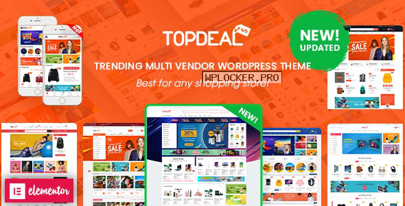 TopDeal v1.9.7 – Multipurpose Marketplace WordPress Theme
