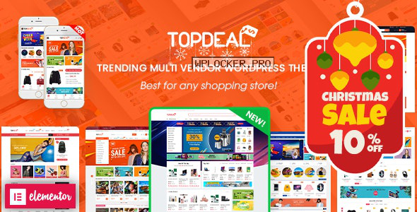 TopDeal v1.9.8 – Multipurpose Marketplace WordPress Theme