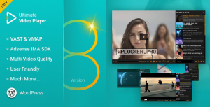 Ultimate Video Player WordPress Plugin v8.3