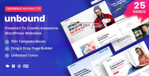 Unbound v2.1.3 – Business Agency Multipurpose Theme