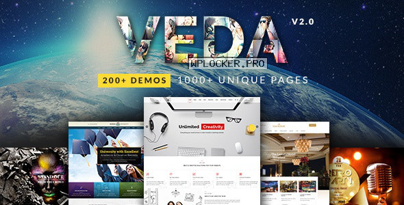 VEDA v3.4 – Multi-Purpose Theme