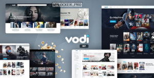 Vodi v1.2.2 – Video WordPress Theme for Movies & TV Shows