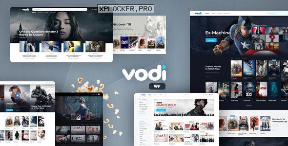 Vodi v1.2.2 – Video WordPress Theme for Movies & TV Shows