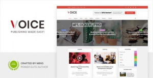 Voice v2.9.7 – Clean News/Magazine WordPress Theme