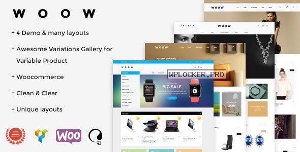 WOOW v1.1.57 – Responsive WooCommerce Theme