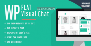 WP Flat Visual Chat v5.399