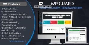 WP Guard v1.5 – Security, Firewall & Anti-Spam plugin for WordPress