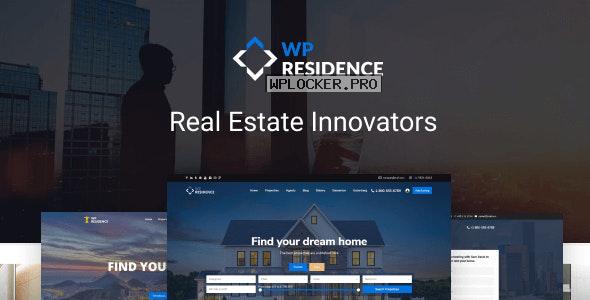 WP Residence v3.5 – Real Estate WordPress Theme