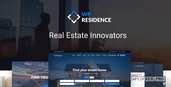 WP Residence v3.5.1 – Real Estate WordPress Theme