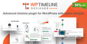 WP Timeline Designer Pro v1.0.0 – WordPress Timeline Plugin